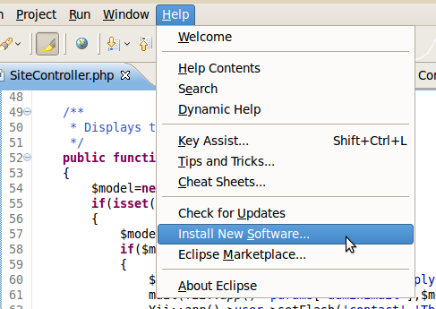 Yiiclipse homepage - How to setup yii support for eclipse PDT